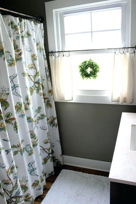 Small Waterproof Bathroom Window Curtains Ideas Windows Decorating Small Bathroom Window Bathroom Window Treatments Bathroom Window Coverings