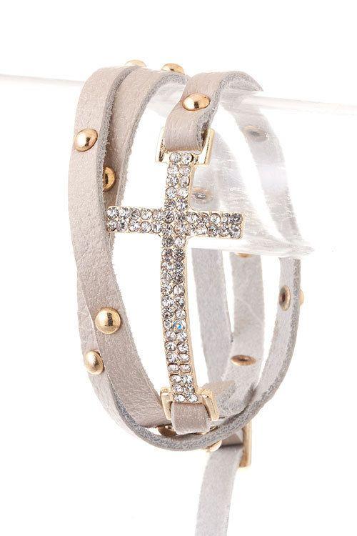 Cross bracelett