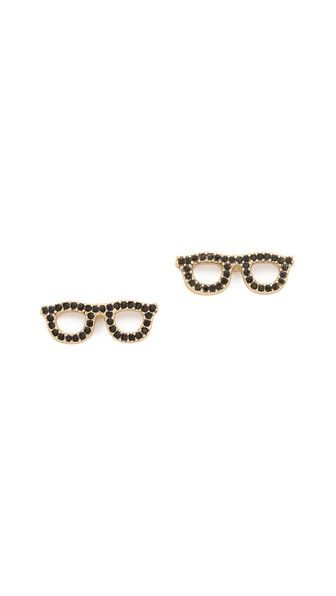 Kate Spade New York Goreski Glasses Stud Earrings