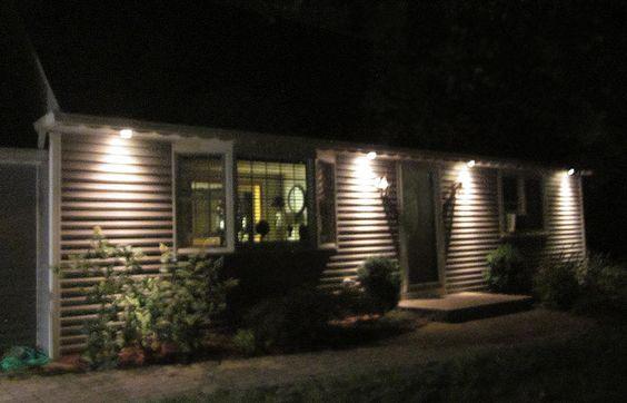solor lighting for outside houses