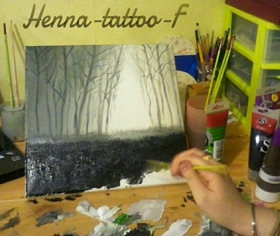 How I paint  http://henna-tattoo-f.blogspot.fr/search/label/tableaux