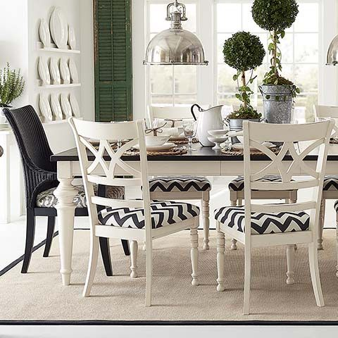 Custom 76 Rectangle Table And Chairs By Bassett Custom Dining