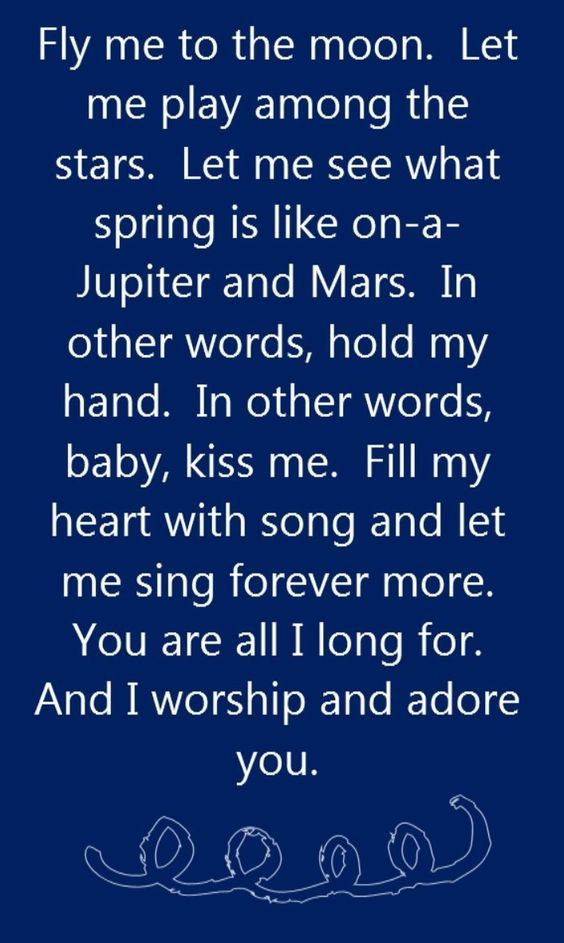 Frank Sinatra - Fly Me to the Moon - song lyrics, song quotes, songs, music lyrics, music quotes,