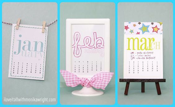 10 FREE 2012 Planners and Calendars for Every Style! They are all adorable! #ishareprintables: