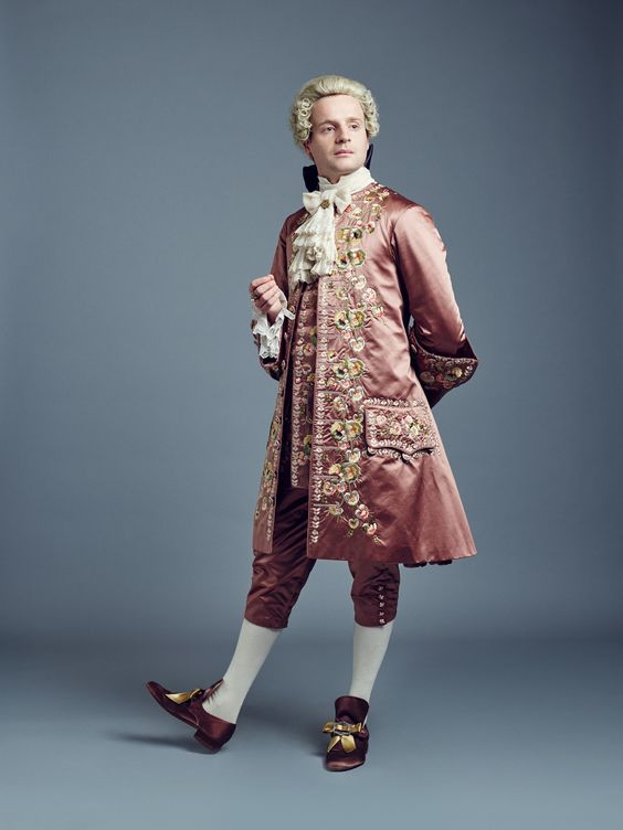 "Outlander S2 Andrew Gower as ""Prince Charles Edward Stuart"""