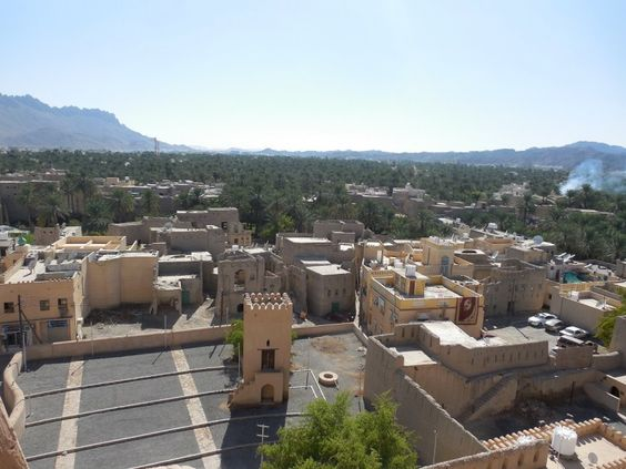 Oman: Nizwa fort / Oman: il forte di Nizwa.