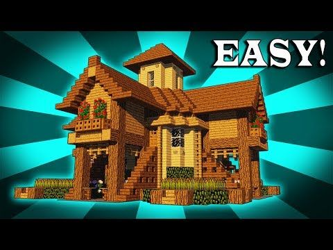 If You Want To Build A Survival House That Will Change Your Minecraft Experience Forever Easy Minecraft Houses Cute Minecraft Houses Minecraft House Tutorials