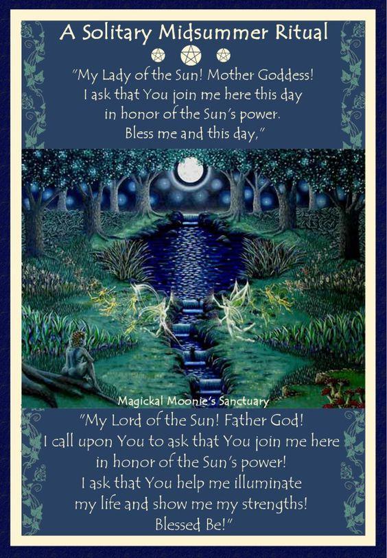 """""""Minha Senhora do Sol! Deusa Mãe! Peço-lhe para se juntar a mim aqui hoje em honra do poder do Sol. Abençoa-me neste dia.  Meu Senhor do Sol! Deus Pai! Peço-lhe para se juntar a mim aqui hoje em honra do poder do Sol! Peço que me ajude e ilumine minha vida e me mostre meus pontos fortes!"""" Blessed be!"""