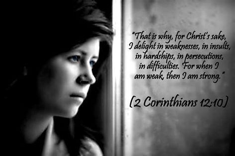 2 Cor. 12:10