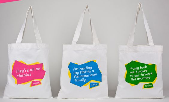 Get your very unofficial London 2012 Olympics tote bag