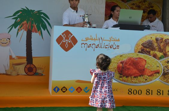 Our youngest Baby customer at Dubai Food Carnival !
