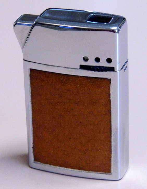 Vintage Bentley Cigarette Lighter, Model No. 1677, Made In Austria, Original Cost = 7.95 USD.