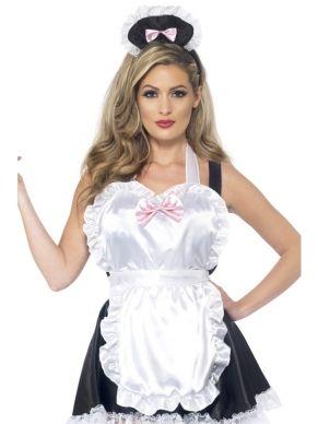 Frans Dienstmeisje Aankleedsetje 2-delig