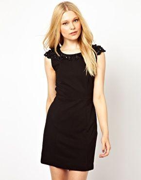 $92.82 Darling Embellished Shift Dress