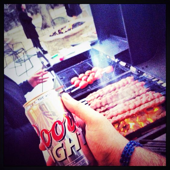 BBQ and brew. Deal.