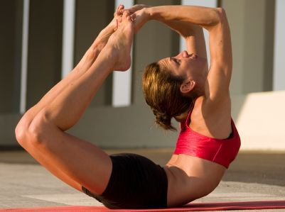 8 Ways Yoga Can Promote Weight Loss  1. Stimulate the vital force of the liver  2. Activate the thyroid gland  3. Create the right pH balance – Alkalize!  4. Find the right balance between the sympathetic and parasympathetic nervous system.  5. Activate the internal heat in the nervous system.  6. Move the body with strength.  7. Get your heart rate up.  8. Cleansing the colon