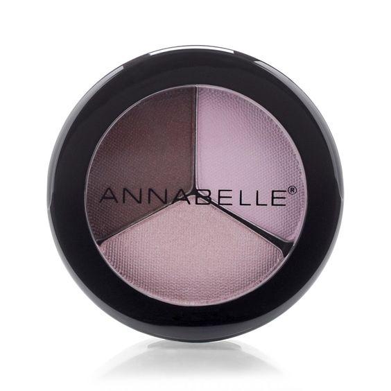 Annabelle Trio Eye Shadow - Rosewood ( Slightly Loved )