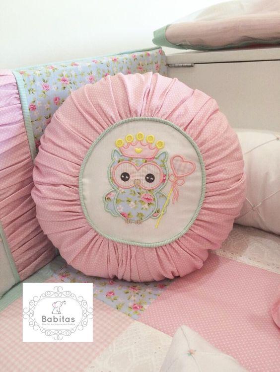Baby pillow , almohadas decorativas para cuna.