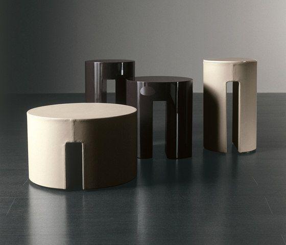 Gong Beistelltische von Meridiani Beistelltische Architonic - moderner runder glasesstisch ac molteni