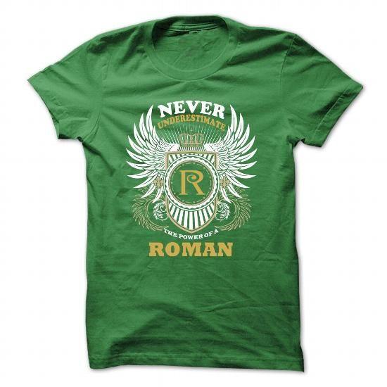 ROMAN - #sueter sweater #purple sweater. CHECKOUT => https://www.sunfrog.com/Funny/ROMAN-Green-31456780-Guys.html?68278