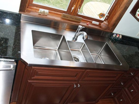Shallow Apron Sink : Custom sink Home Sweet Home..... Pinterest Sinks and Metals