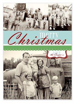 free Christmas card templates
