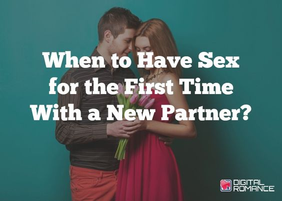 Having sex with new partner