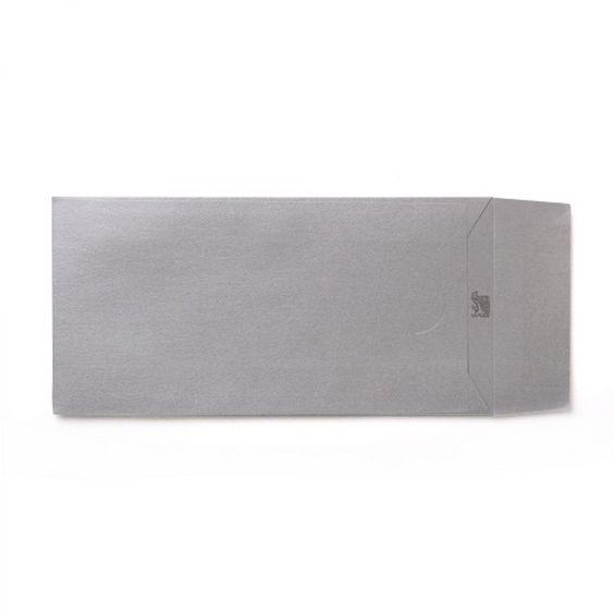 Silver DL Pearlescent Envelopes 120GSM Pack Size : 25 Envelopes