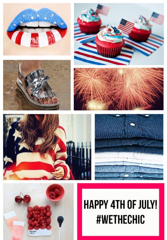 Happy 4th of July! xo #WeTheCHIC