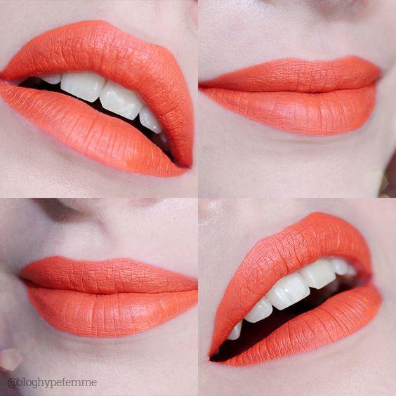 Liquid Lipstick / Batom Líquido Quem Disse, Berenice? Laranjali - Blog Hypefemme