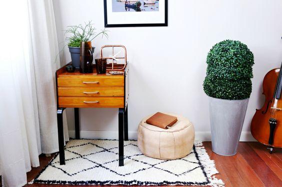 Hampton SC: Mueble inspiración mediados de siglo * DIY