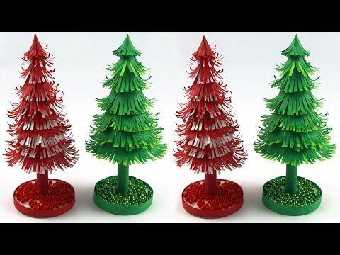 Very Easy Christmas Tree Making Xmas Tree Making At Home Christmas Tree With Paper Christma Paper Christmas Tree Easy Christmas Diy How To Make Christmas Tree
