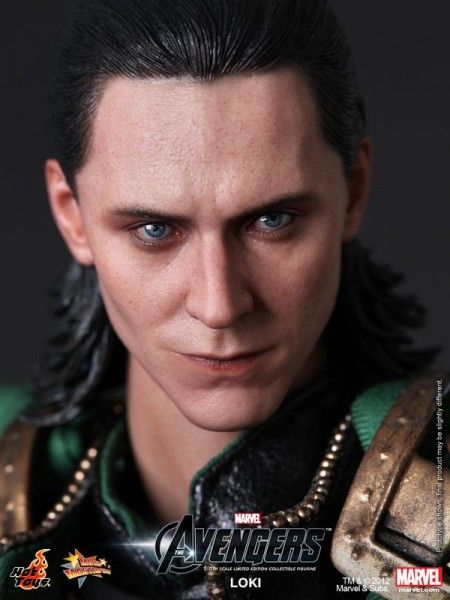 Loki figure by Hot Toys. It's almost frightening how realistic it looks.