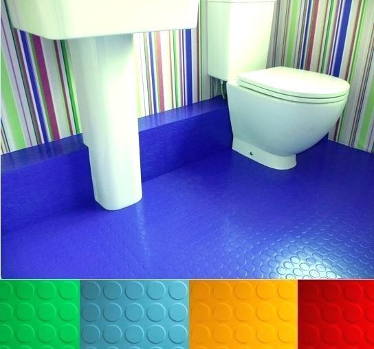 Bathroom Rubber Floor Tiles Choosing
