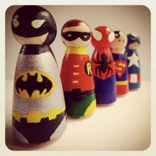 DIY Super Heroes: