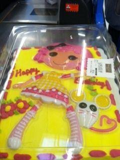 Little lalaloopsy   Cake at WalMart.