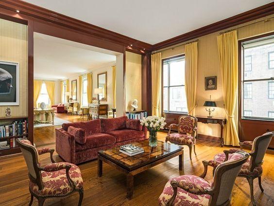 un salon de lappartement de luxe new york que ltat franais - Un Salon De Luxe