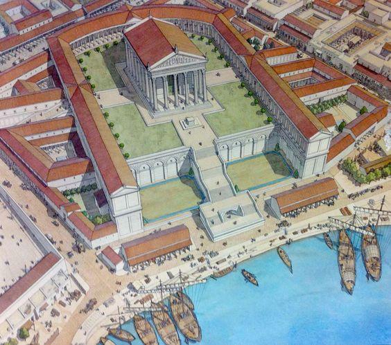 Caesarea Maritima Palace Buscar Con Google Roman