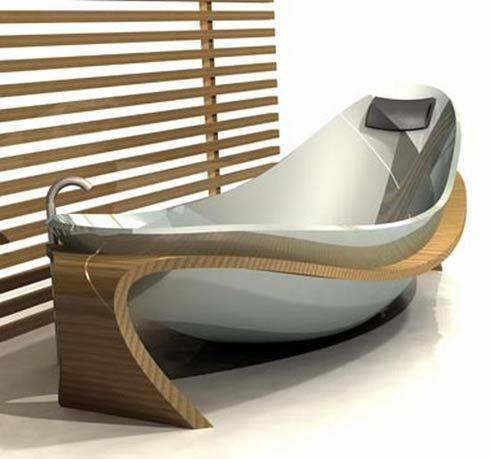 A World of Interior Design: Design of the Week (4/2/ - 4/8): Bath Tubs
