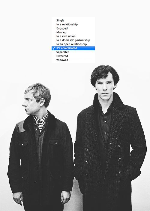 When the Johnlock thirst was real. | 27 Times The Sherlock Fandom Won Tumblr  It's complicated