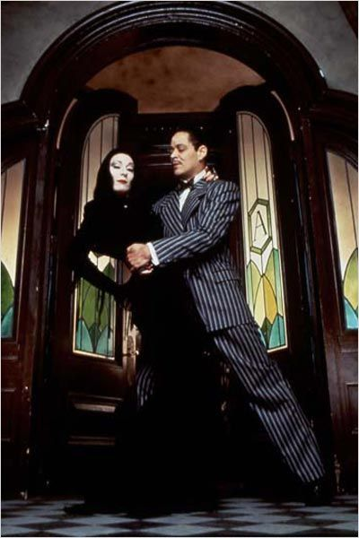 La Famille Addams : Photo Anjelica Huston, Barry Sonnenfeld, Raul Julia
