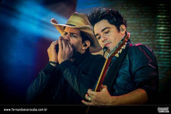 Foto do show da dupla Fernando e Sorocaba realizado em Araras/SP no dia 17-08-2013