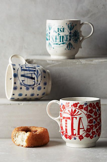 Sweetly Stated Mug. What better to wind down with a cup of tea and a treat... in your favourite mug of course!