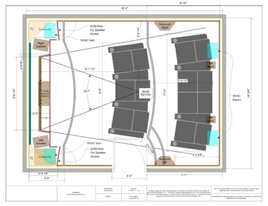 home theater plan - Google Search | detail | Pinterest | Basements, Theatre  design and Google search
