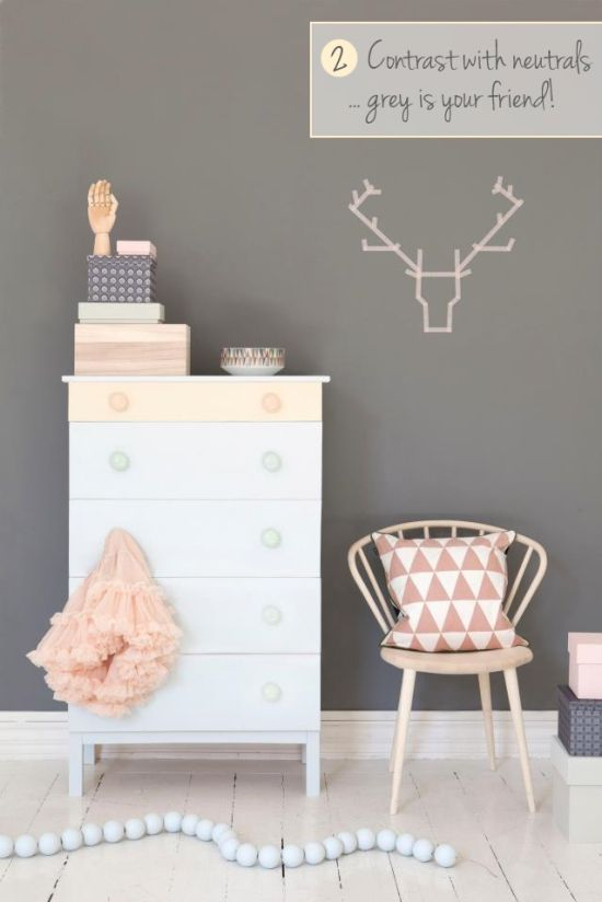 How to Decorate with Pastels | Scandi Kids Bedroom:
