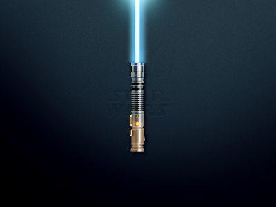 Lightsaber Illustration Design