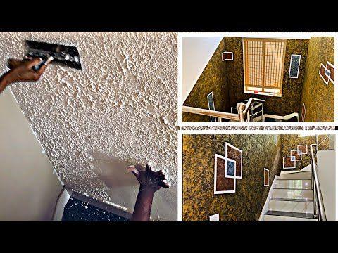 New Wall Punch Putty Texture Design On Interior Jotun Rustic Plaster Youtube In 2021 Texture Design Pop Design Design