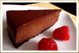 Godiva Dark Chocolate Cheesecake - My mom used to make this for me on my birthday, had it at my wedding, now my wife makes it for me. Really really rich.  So very small slices.