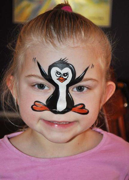 face paint christmas pinterest ducks cute penguins. Black Bedroom Furniture Sets. Home Design Ideas