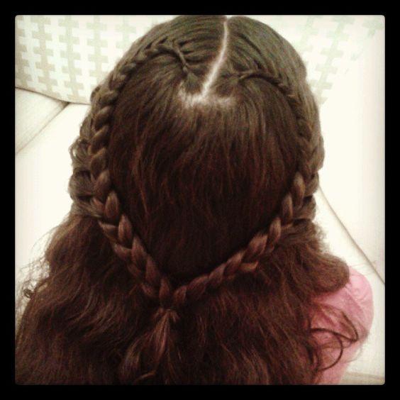 Kalp Seklinde Sac Orgusu Hair Hair Wrap Hair Styles